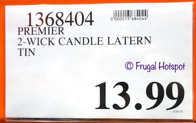 Simply Indulgent Fragranced Soy Candle Costco Price