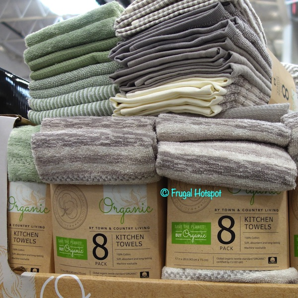 Town Country Organic Kitchen Towels Costco