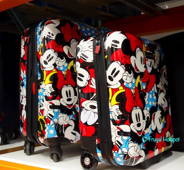 American Tourister Disney Hardside Carry-on Costco Display