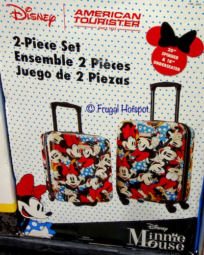 American Tourister Disney Hardside Carry-on Minnie Mouse Costco
