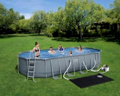 Bestway Oval Frame Pool 22 Ft Costco