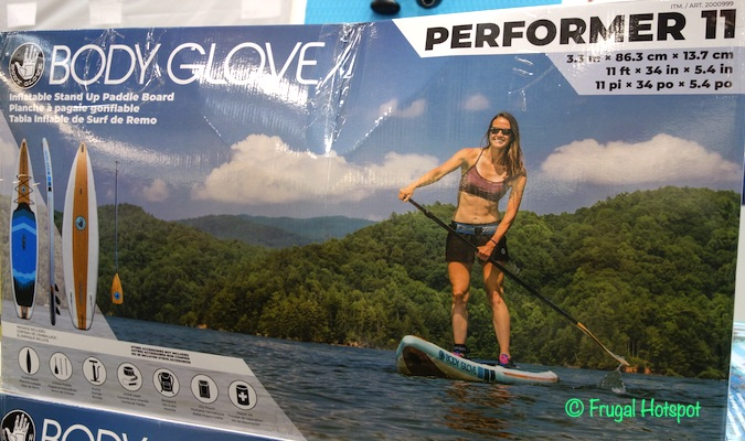 Body Glove 11' Inflatable Stand Up Paddle Board Costco