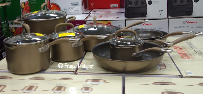 Circulon Hard Anodized Cookware Costco Display