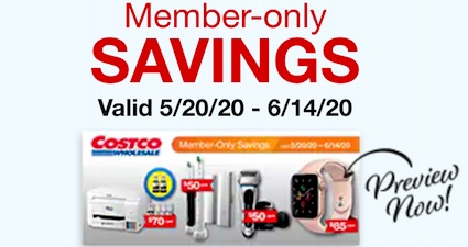 Costco Coupon Book for May June 2020