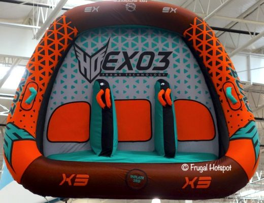 HO Sports Exo 3-Person Towable Costco Display