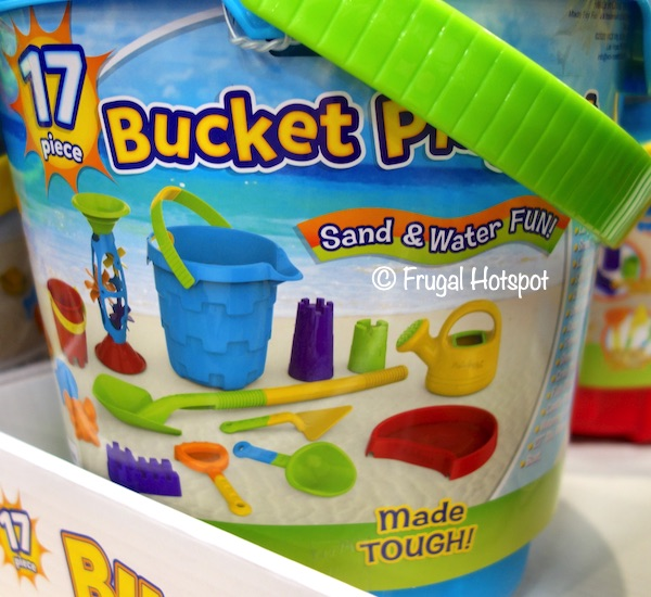 Made For Fun 17-Piece Bucket Playset Costco