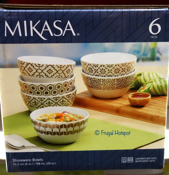 Mikasa Celebration Stoneware Bowls Costco