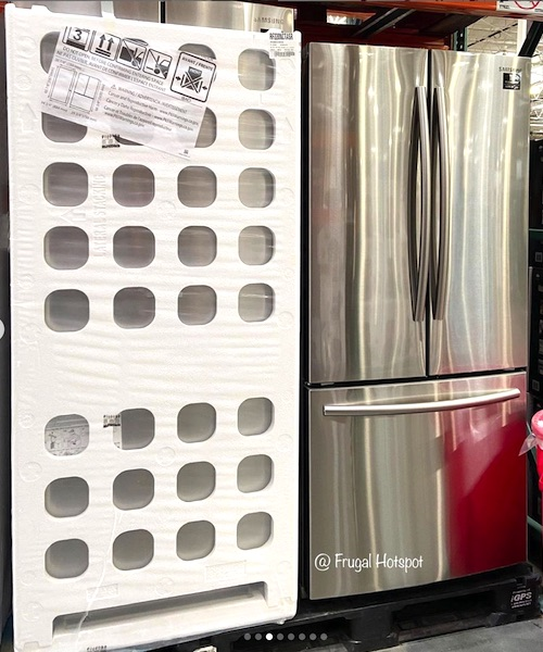 Samsung 22 Cu Ft Stainless Steel Refrigerator Costco Item 1237472