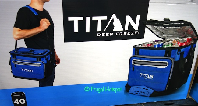 Titan Soft Sided Collapsible Cooler Costco