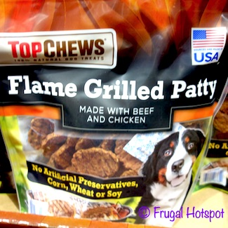 Top Chews Flame Grilled Patty 36 oz Costco
