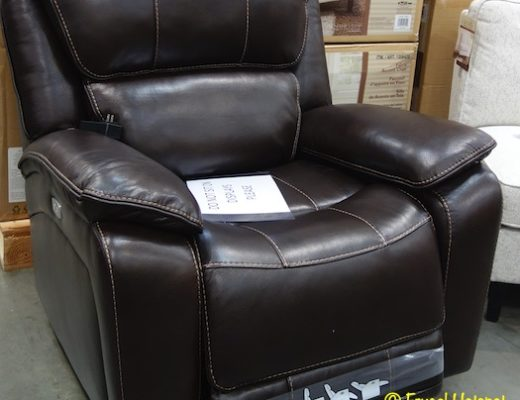 Barcalounger Leather Power Recliner Costco Display