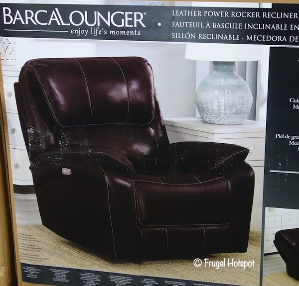 Barcalounger Leather Power Recliner Costco