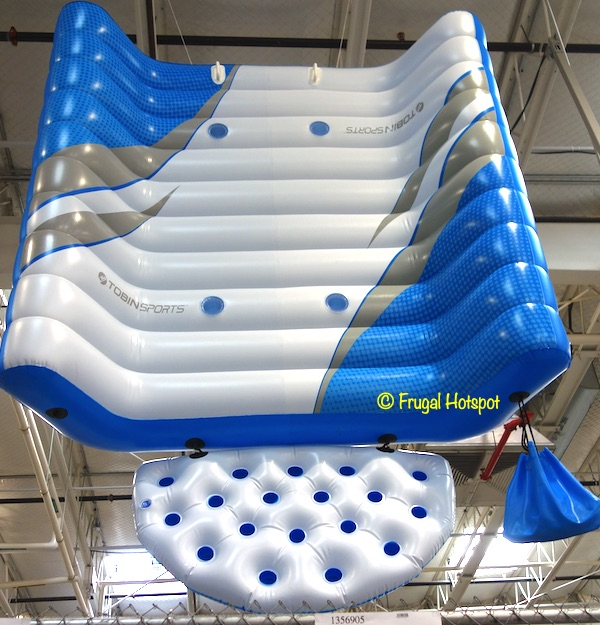 Bestway Tobin Sports Floating Island Costco Display