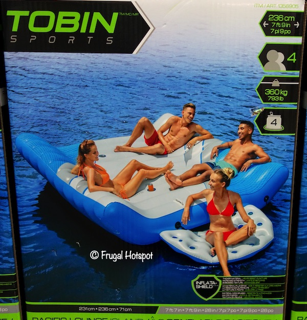 Bestway Tobin Sports Floating Island Costco