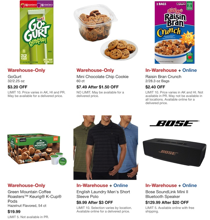 Costco Hot Buys Sale- June 13 - 21, 2020. Page 3