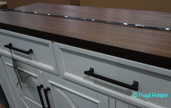 Craft + Main Cordoba 70 Accent Console Costco Display