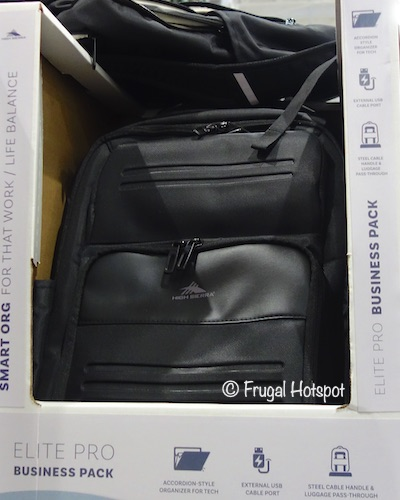 High Sierra Elite Pro Business Backpack Costco