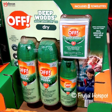 Off! Deep Woods Insect Repellent Costco