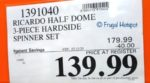 Ricardo Half Dome Spinner Set Costco Sale Price