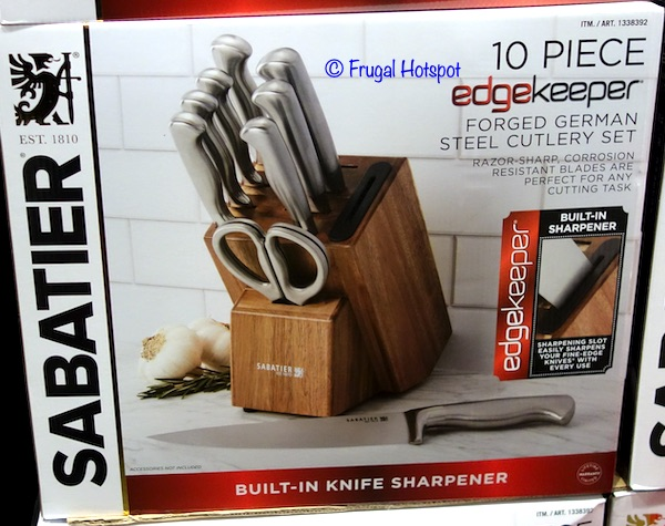 Sabatier Cutlery Set Costco
