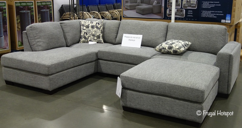 Synergy Home Maycen Fabric Sectional Costco Display