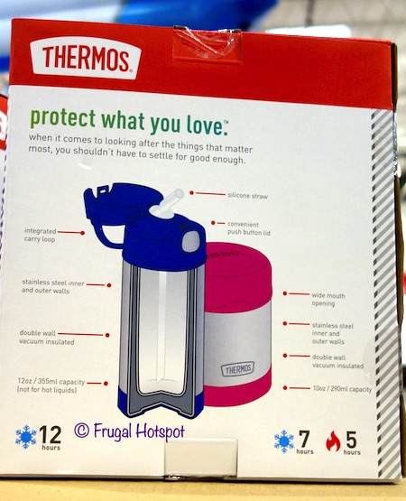 Thermos FUNtainer Lunch Set Costco