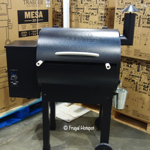 Traeger Mesa 22 Wood Pellet Grill Costco Display