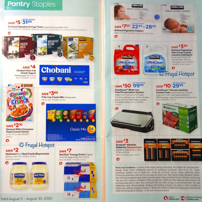 Costco Coupon Book AUGUST 2020 Page2, Page 3