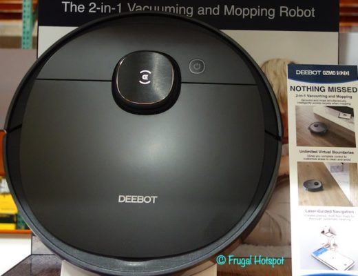 ECOVACS DEEBOT OZMO 920 Vacuum and Mopping Robot Costco Display
