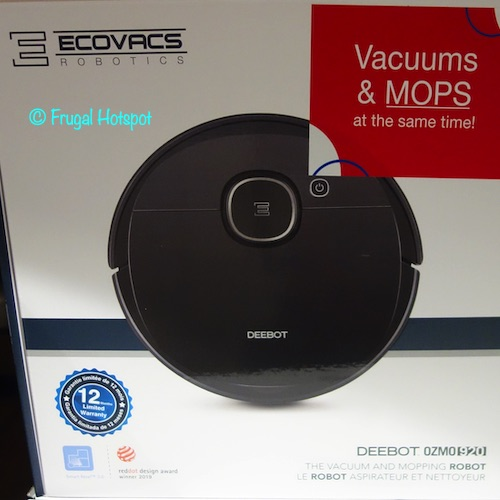 ECOVACS DEEBOT OZMO 920 Vacuum and Mopping Robot Costco