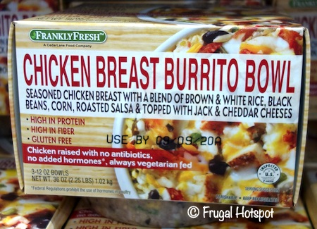 Frankly Fresh Chicken Burrito Bowl Costco