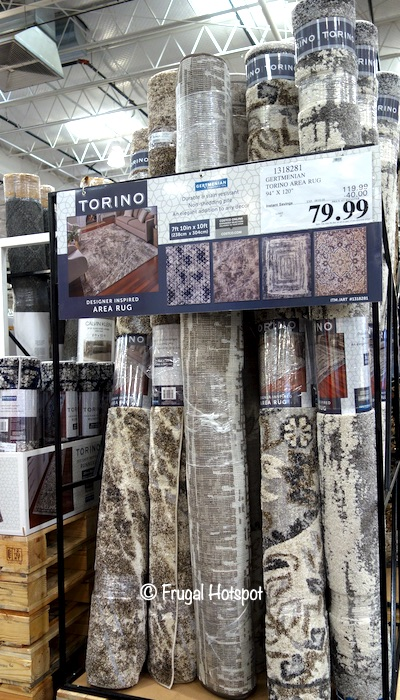 Gertmenian Torino 7'10 x 10' Area Rug Costco Display