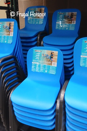 Lifetime Products Kids Blue Stacking Chair Costco 2100004