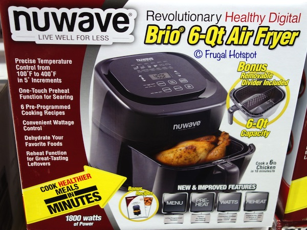 Nuwave Brio 6-Qt Air Fryer Costco