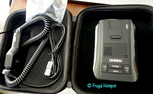 Uniden DFR9 Super Long Range Laser Radar Detector Bundle Costco