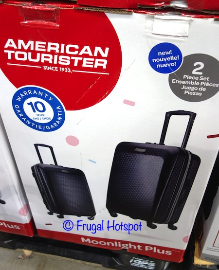 American Tourister Moonlight Plus Hardside Spinner Set 2-Piece | Costco