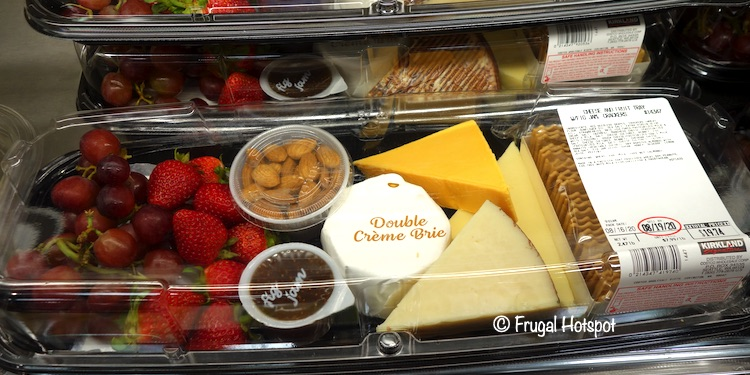 Costco Cheese and Fruit Tray (Kirkland Signature)