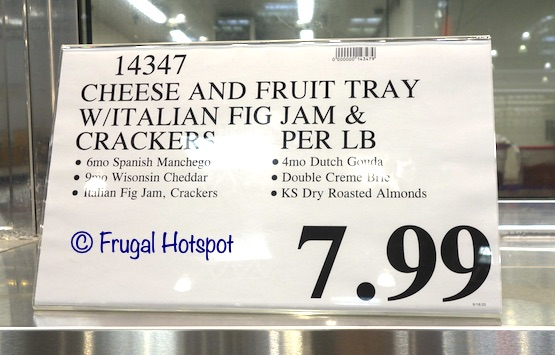 Costco Cheese and Fruit Tray (Kirkland Signature) Price