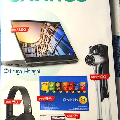 Costco Coupon Book AUGUST 2020 Cover