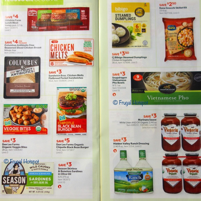Costco Coupon Book AUGUST 2020 Page 10, Page 11
