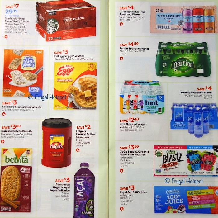 Costco Coupon Book AUGUST 2020 Page 12, Page 13