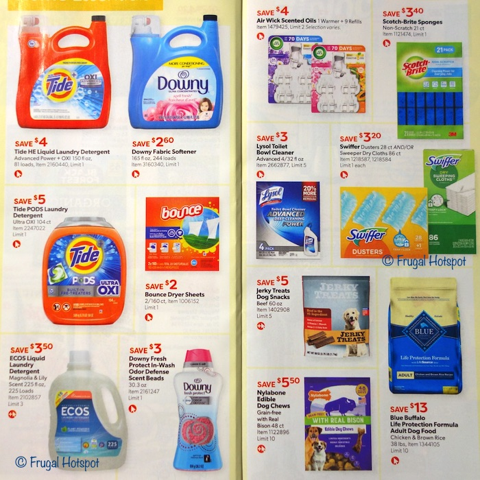 Costco Coupon Book AUGUST 2020 Page 16, Page 17