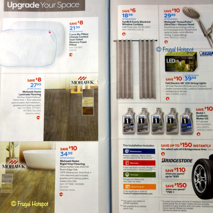 Costco Coupon Book AUGUST 2020 Page 22, Page 23