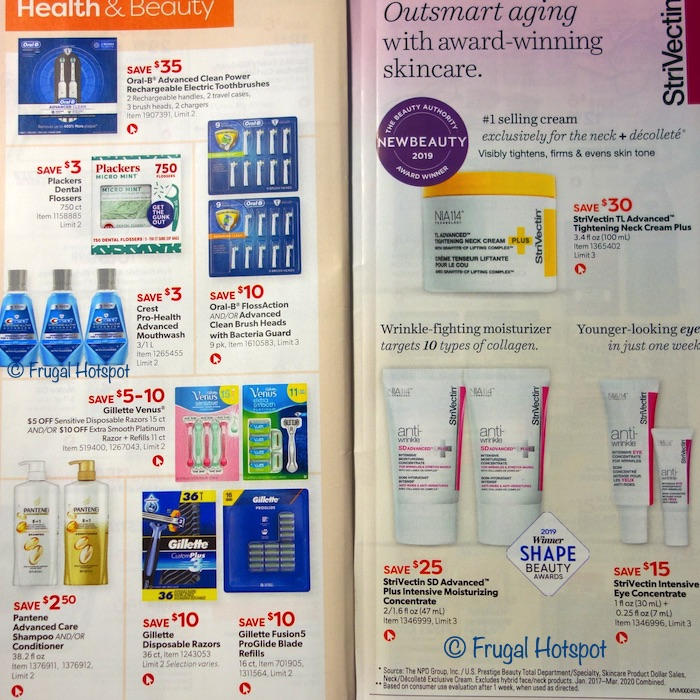 Costco Coupon Book AUGUST 2020 Page 24, Page 25