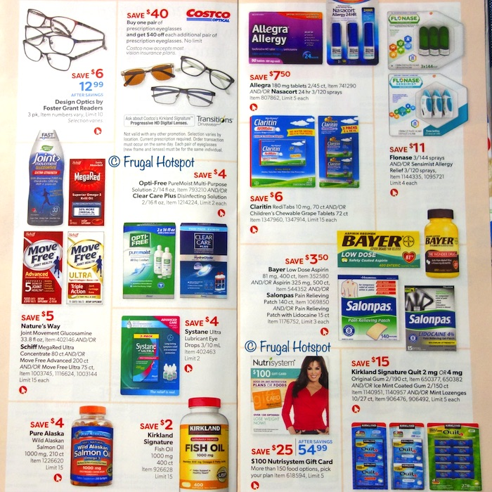 Costco Coupon Book AUGUST 2020 Page 26, Page 27