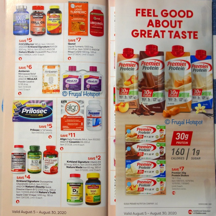 Costco Coupon Book AUGUST 2020 Page 28, Page 29