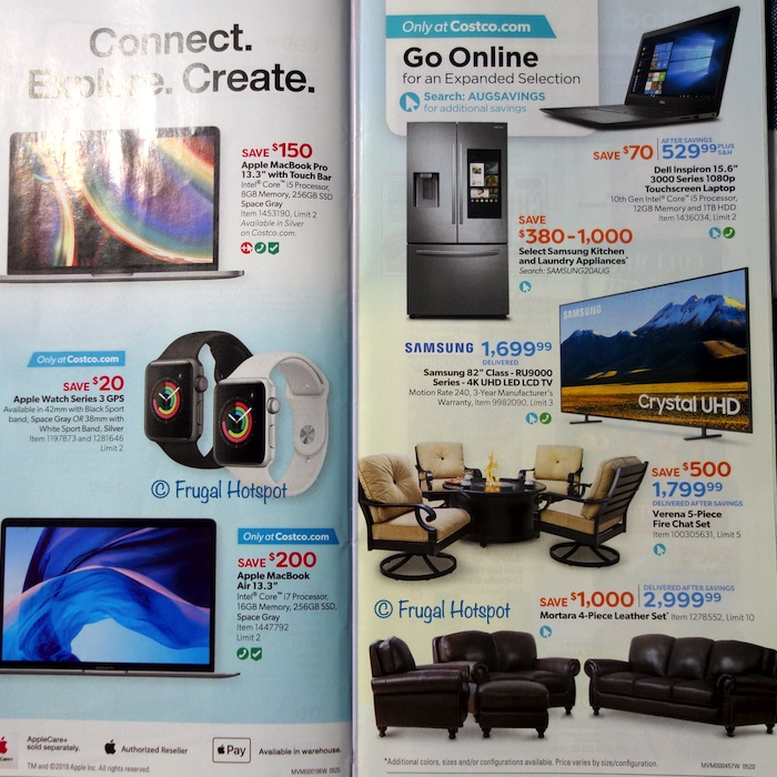 Costco Coupon Book AUGUST 2020 Page 8, Page 9