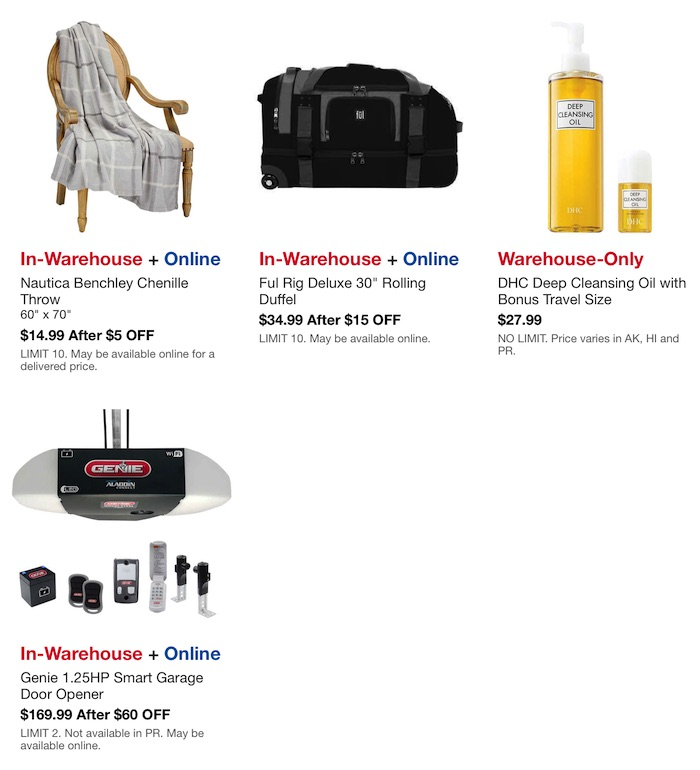 Costco Hot Buys August 2020 Page 4