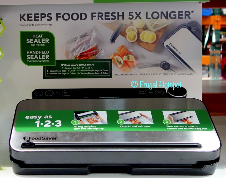 FoodSaver VS3180 Automatic Vacuum Sealing System | Costco Display