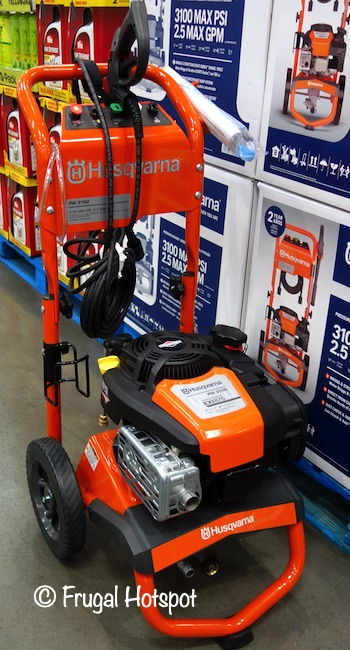 Husqvarna Gas Pressure Washer Costco Display